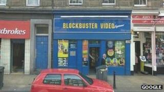 Blockbuster on Great Junction Street Pic: Google