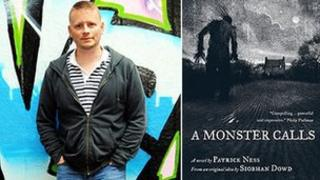 Patrick Ness and the cover of A Monster Calls