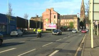 The incident happened on Clifton Street, north Belfast