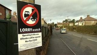 Lorry watch poster