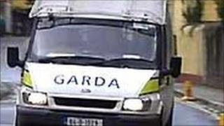 Garda vehicle