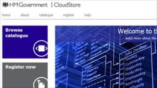 A screenshot of the Cloudstore