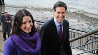 Rachel Reeves with Ed Miliband