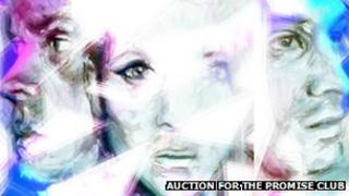 Auction for the Promise Club - Pic: Zoe White Chambers