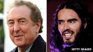 Eric Idle and Russell Brand