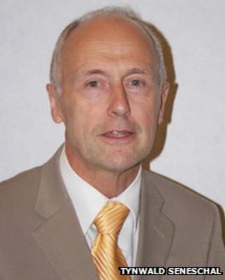 Treasury Minister Isle of Man