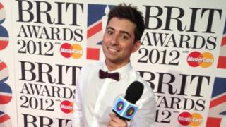 Ricky's sending updates from the Brit Awards, where Ed Sheeran and Adele are the favourites.