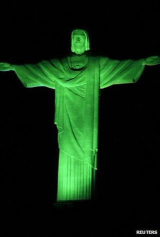 Christ statue (Image: Reuters)