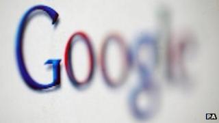 File photo of Google logo 17 January 2008