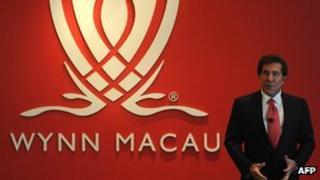 Steve Wynn, chief executive Wynn Resorts
