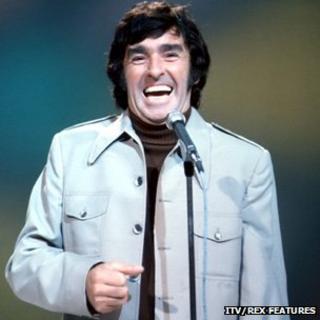 Ken Goodwin was a regular on ITV's The Comedians