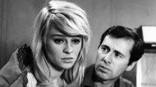 Peter Halliday as John Fleming and Julie Christie as Andromeda in A For Andromeda