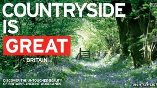 Poster from the GREAT Britain campaign, pic courtesy of VisitBritain