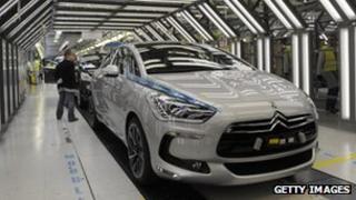 Peugeot Sochaux factory