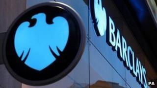 Barclays Bank signs