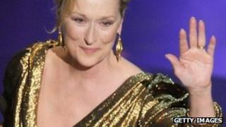 Meryl Streep at the 2012 Oscars