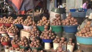 "The humble spud in Uganda is known simply as ""Irish"""