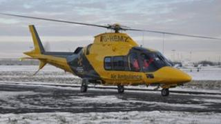 Derbyshire Leicestershire and Rutland Air Ambulance
