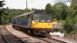 Train on Tarka Line