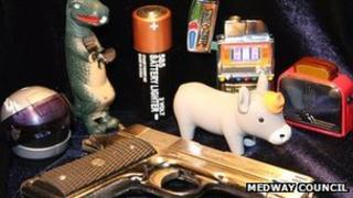Novelty lighters recovered in Medway