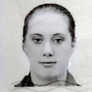 The unidentified woman hunted in Kenya
