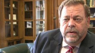 Bradford council leader Ian Greenwood
