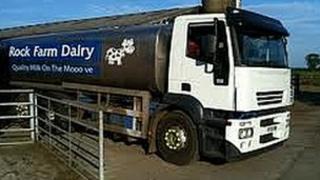 Rock Farm Dairy tanker