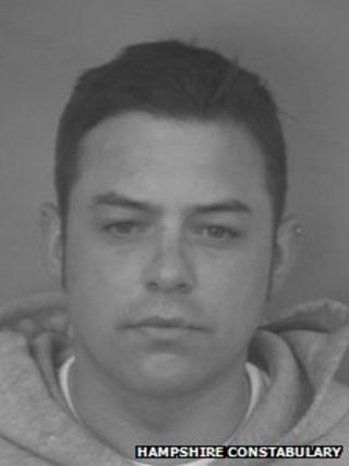 Christopher Alan Birch, 31, from Gosport