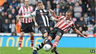 Newcastle V Sunderland match