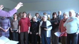 The choir of the Am Hohen Tore hospice in Braunschweig