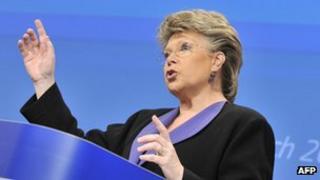 EU Justice Commissioner Viviane Reding