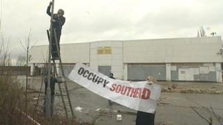 New Occupy Southend site being set up