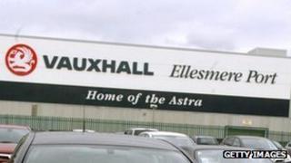 Vauxhall's Ellesmere Port factory