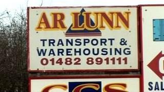 A R Lunn sign