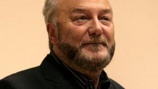 Former Labour MP George Galloway