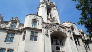 The Supreme Court, situated at the Middlesex Guildhall on Parliament Square