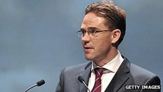 Finnish premier Jyrki Katainen