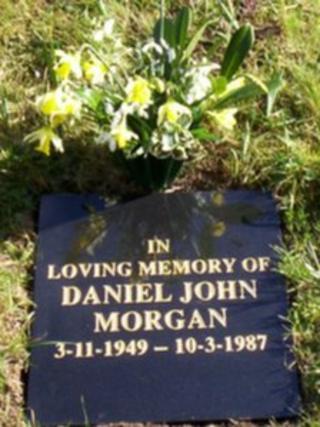 The memorial to Daniel Morgan