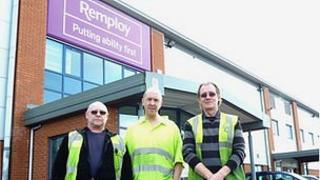 Remploy staff