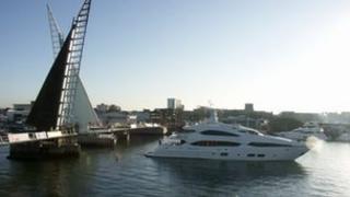 The Twin Sails Bridge
