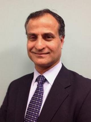 Councillor Mohammed Nazir from Baylis & Stoke ward in Slough