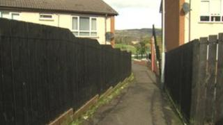 The man was raped in an alleyway in Twinbrook