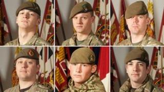 The six dead soldiers