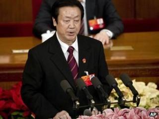 Chinese Supreme Court President Wang Shengjun, 11 March 2012