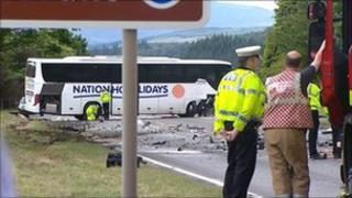Picture of crash site