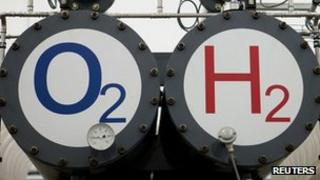 Pilot hydrogen power plant