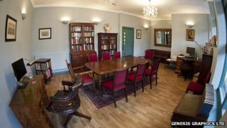 """Brooke House Sixth Form College """"Oxford style"""" study room"""