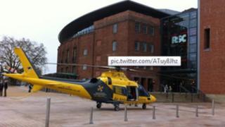 Air ambulance- photo by Craig Allen