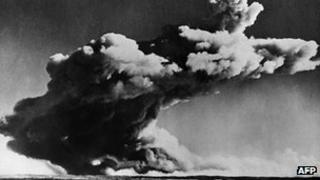 British nuclear test in 1952