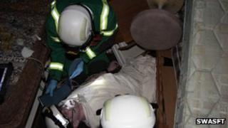 HART paramedics during training
